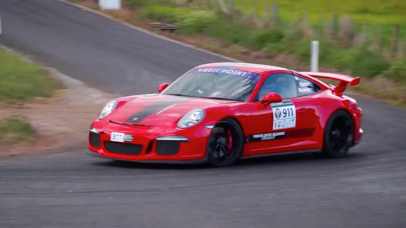 This Porsche 911 Gt3 Sounds Awesome At Targa Tasmania Cab713